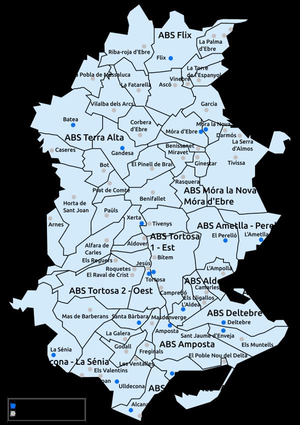 Mapa Terres De L Ebre.Troba El Teu Cap Web Gerencia Territorial Terres De L Ebre